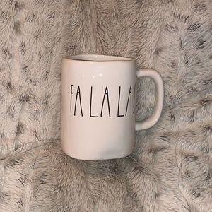 Rae Dunn FaLaLa Mug